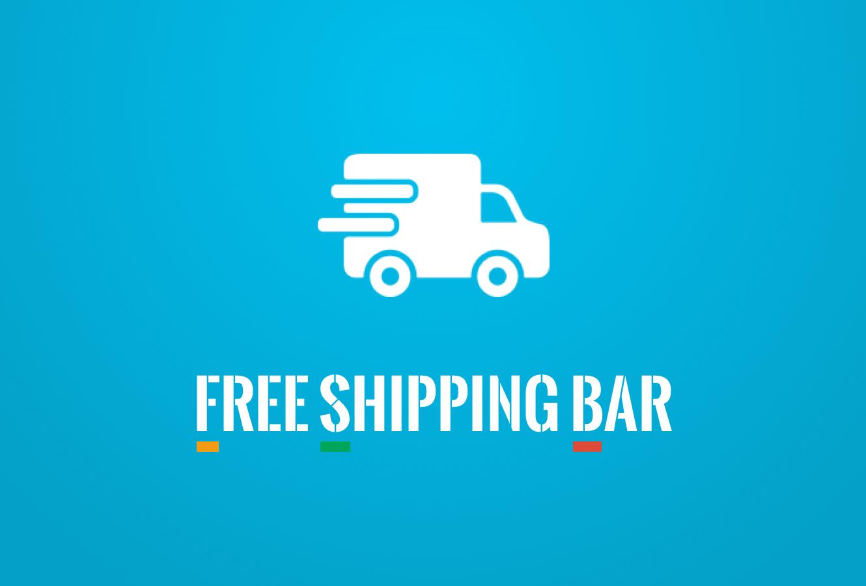 Hextom-Shopify-App-Free-Shipping-Bar