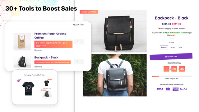 Hextom-Shopify-App-Ultimate-Sales-Boost-Countdown-Trust-Badge-Inventory-Timer